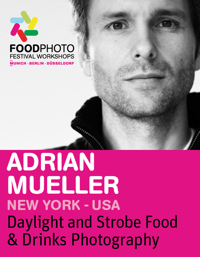 ADRIAN MUELLER: Daylight and Strobe Food&Drinks photography