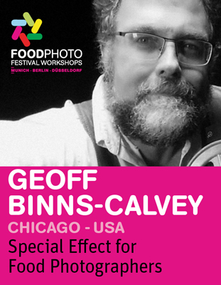 GEOFF BINNS-CALVEY: Special Effects for Food Photographers