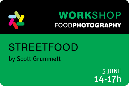 5 JUNE 14-17h Streetfood - Scott Grummett