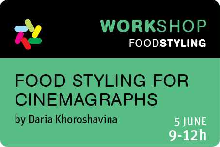 Food Styling for Cinemagraphs - Daria Khoroshavina